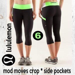 Lululemon Run: Mod Moves Crop
